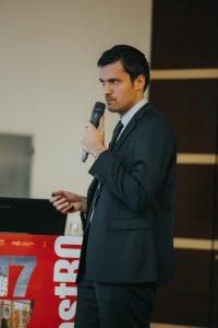 доктор Стефан Митев по време на конгрес